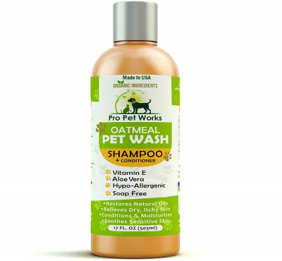 Pro Pet Works dog shampoo for itchy skin
