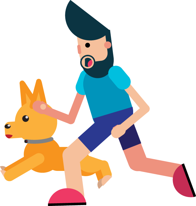 dog for runners