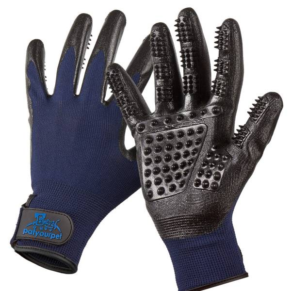 best grooming gloves