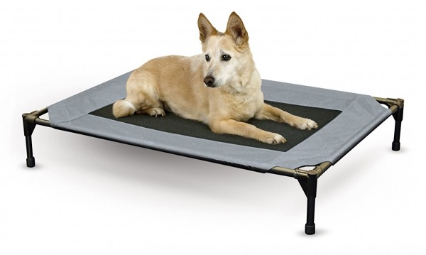 Elevated Cooling dog bed