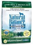 Natural Balance limited ingredients dog food