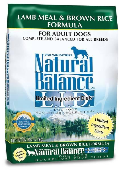 Natural Balance dog diet