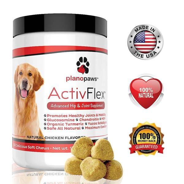 Plano Paws glucosamine for dogs