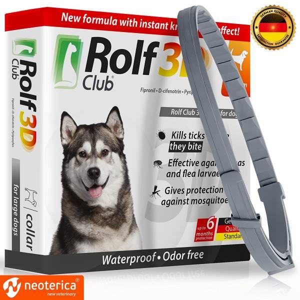 Rolf club 3D dog collar