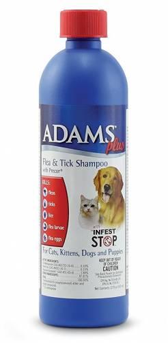 Adams Plus dog flae shampoo