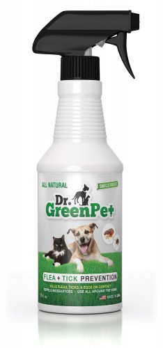 Dr. GreenPet flea spray