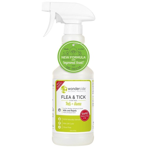 Wondercide flea and tick dog spray