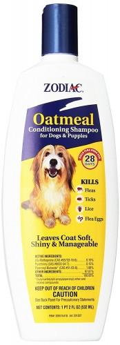 Zodiac best dog flea shampoo
