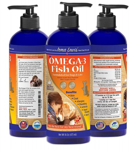 Real Deal Pet Labs dog fish oil