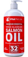 Vital Pet Life salmon oil for dogs