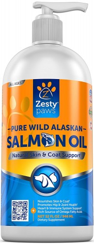 Zesty Paws fish oil
