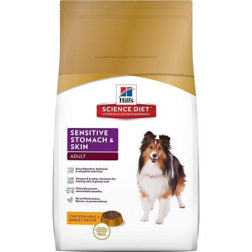 Hill's Science Diet dog food for sensitive stomach