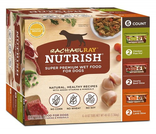 Rachael Ray Nutrish Natural Wet dog food review