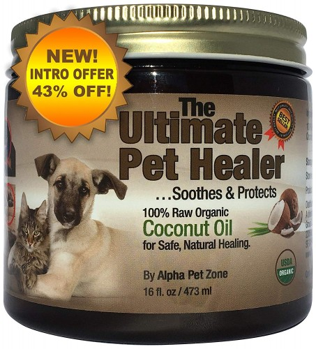 Alpha Pet Zone Coconut Oil