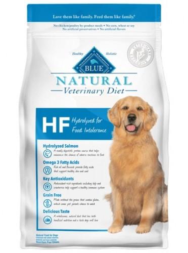 Blue HF Hydrolyzed dog food