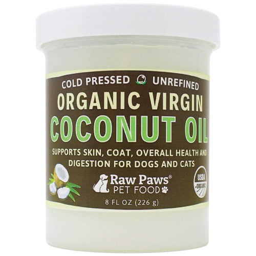 Raw Paws Organic Coconut Oil