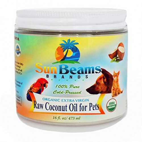 Sun Beams Brands Coconut Oil for dogs