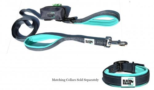 Black Rhino The Comfort Grip - Heavy Duty Dual Handle Dog Leas
