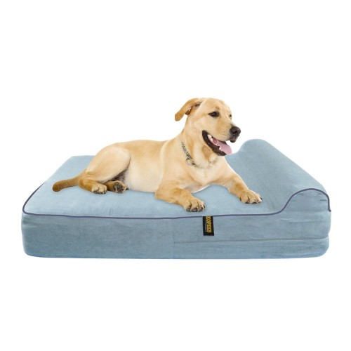 KOPEKS - Orthopedic Memory Foam Dog Bed