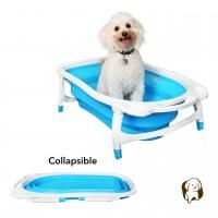 BaileyBear Collapsible Portable Foldable Dog Bath Tub