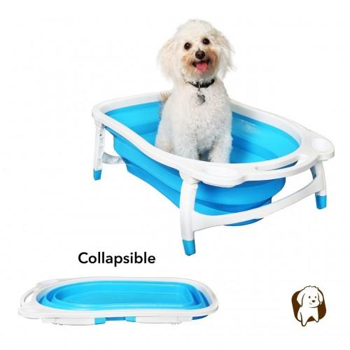 BaileyBear Porta Tubby Collapsible Portable Foldable Dog Cat Bath