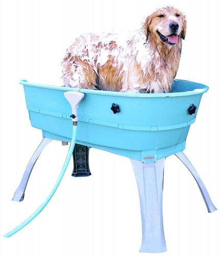 Elevated Portable Pet Bath