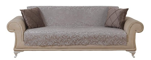 Chiara Rose Acacia Anti-Slip Armless Pet Dog Sofa Couch Cover