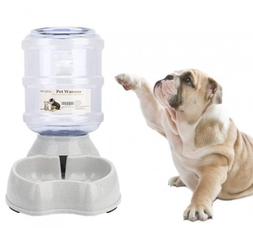 Old Tjikko Dogs Water Dispenser, Water Bowl for Dogs