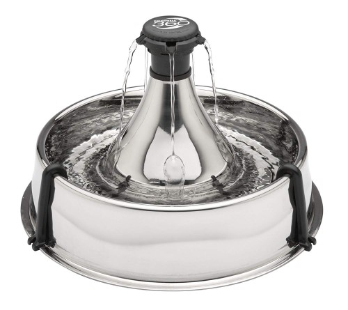 PetSafe Drinkwell 360 Multi-Pet Stainless Steel Dog Fountain