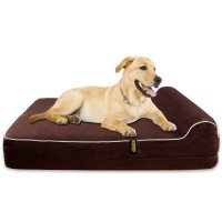 KOPEKS - Orthopedic Memory Foam Dog Bed with Pillow