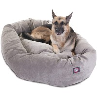 Villa Bagel Dog Bed by Majestic