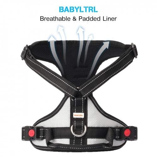 Babyltrl Big Dog Harness No-Pull Anti-Tear Adjustable Pet Harness