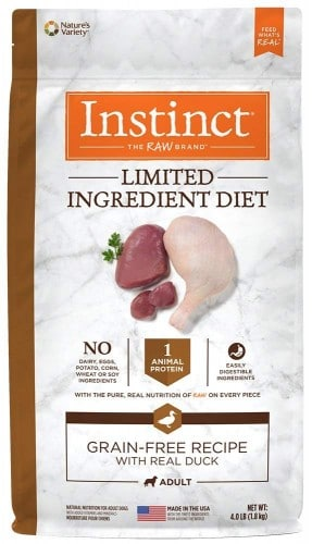 Instinct Limited Ingredient Diet Grain Free Recipe Natural Dog Food