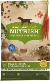 Rachael Ray Nutrish Natural Chicken & Veggies Recipe Dry Dog Food